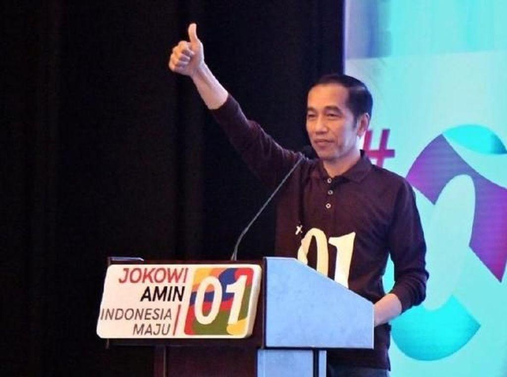 Target Realistis Jokowi di Kota Hujan