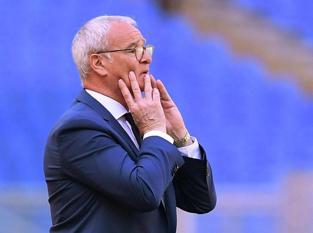 Ranieri Bekerja 25 Jam Memperbaiki Roma