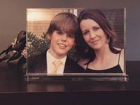 Justin Bieber kecil dan sang ibu/ Foto: Instagram @pattiemallette