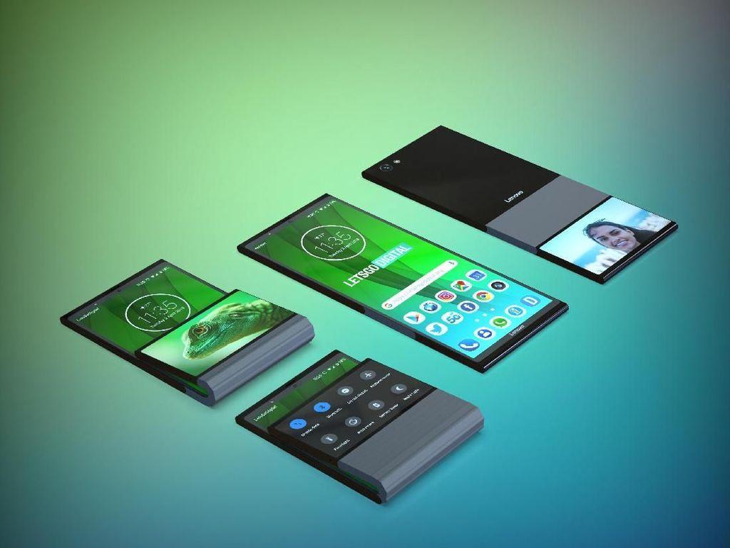 Lenovo Ikutan Demam Ponsel Layar Lipat