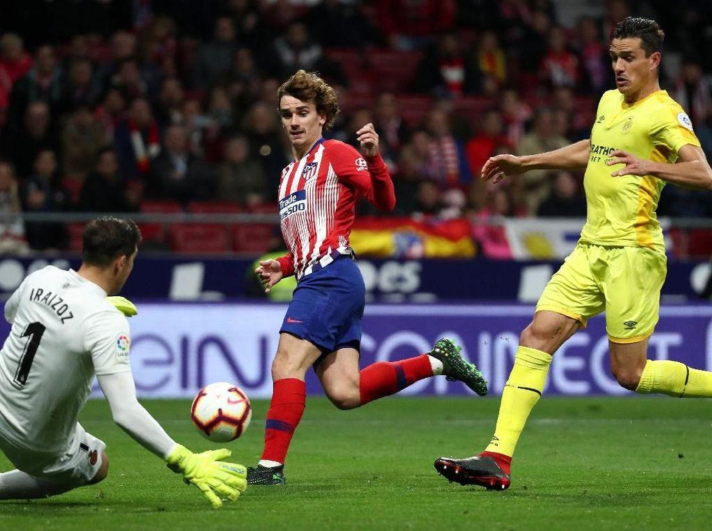 Hasil Liga Spanyol: Atletico Kalahkan Girona 2-0