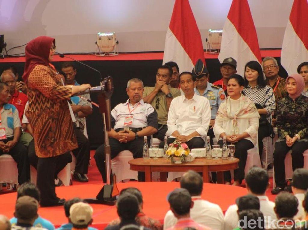 Kunjungi Sragen, Jokowi Didoakan Bupati Kembali Pimpin Bangsa