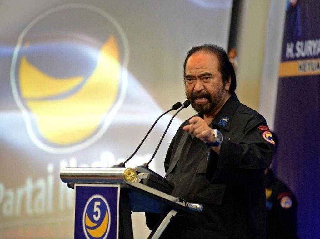 Prabowo Klaim Kampanyenya Terbesar, Surya Paloh: Itu Wajar