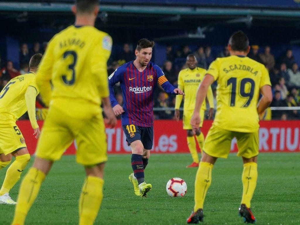 Hasil Liga Spanyol: Comeback, Barca Seri 4-4 Lawan Villarreal
