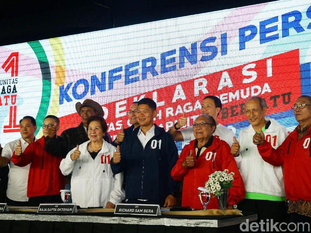 Komunitas Olahraga Bersatu Dukung Jokowi-Maruf Amin