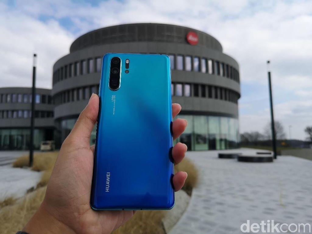 Menelisik Jejak AS di Huawei P30 Pro