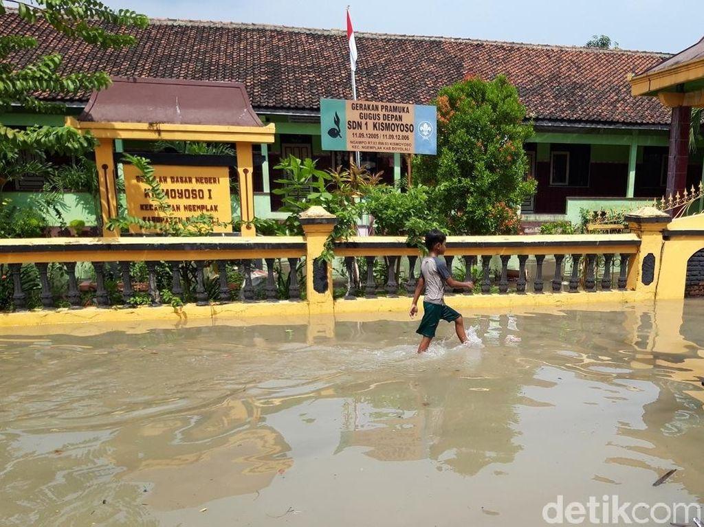 Banjir Genangi Sejumlah Desa di Boyolali