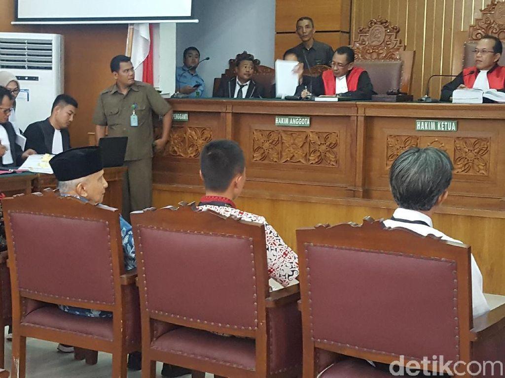Amien Rais Jadi Saksi di Sidang Ratna Sarumpaet