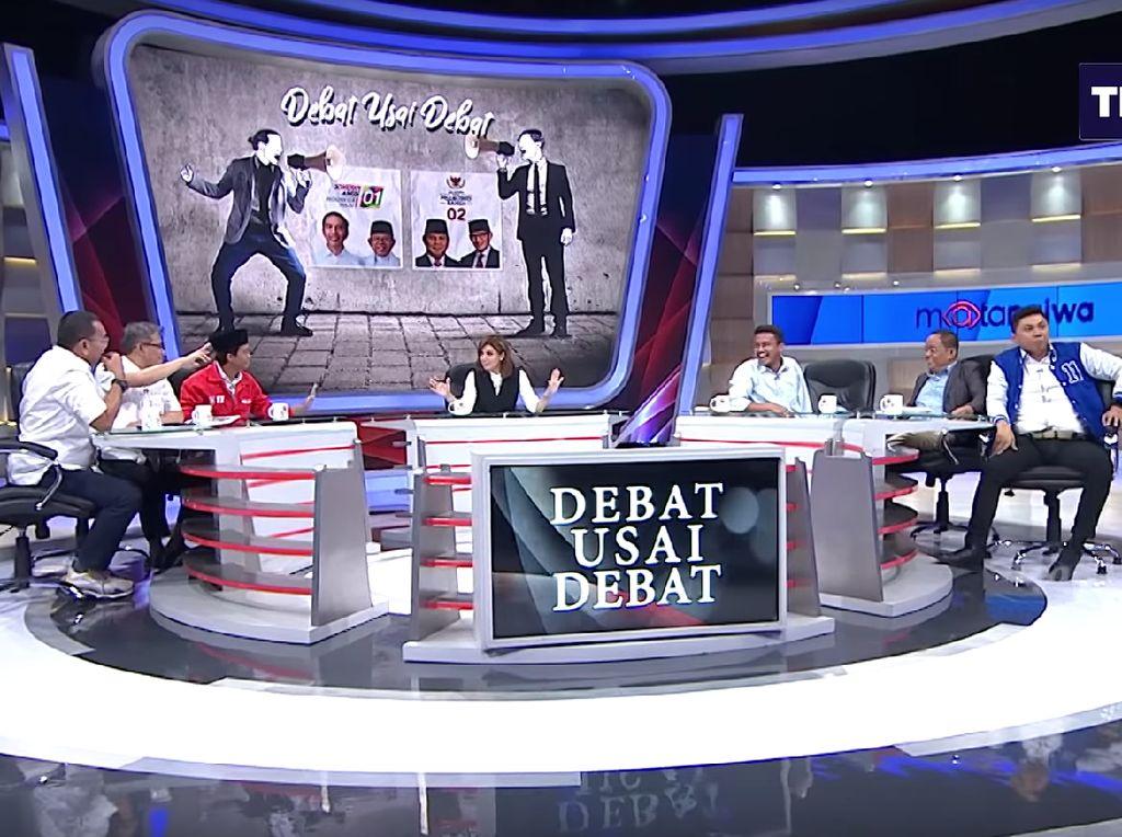Debat Menggebu-gebu Jansen Vs Budiman Sudjamiko soal Rekam Jejak Capres