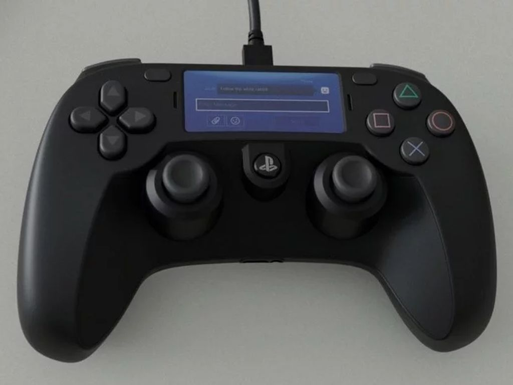 Apa Iya Ini DualShock buat PS5, Kok Mirip Controller Xbox?