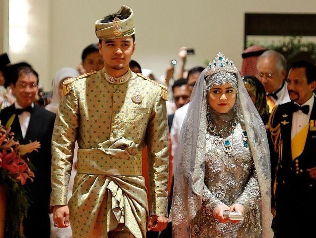 Foto: Intip Mewahnya Pesta Pernikahan Anak-anak Sultan Brunei yang Super Kaya