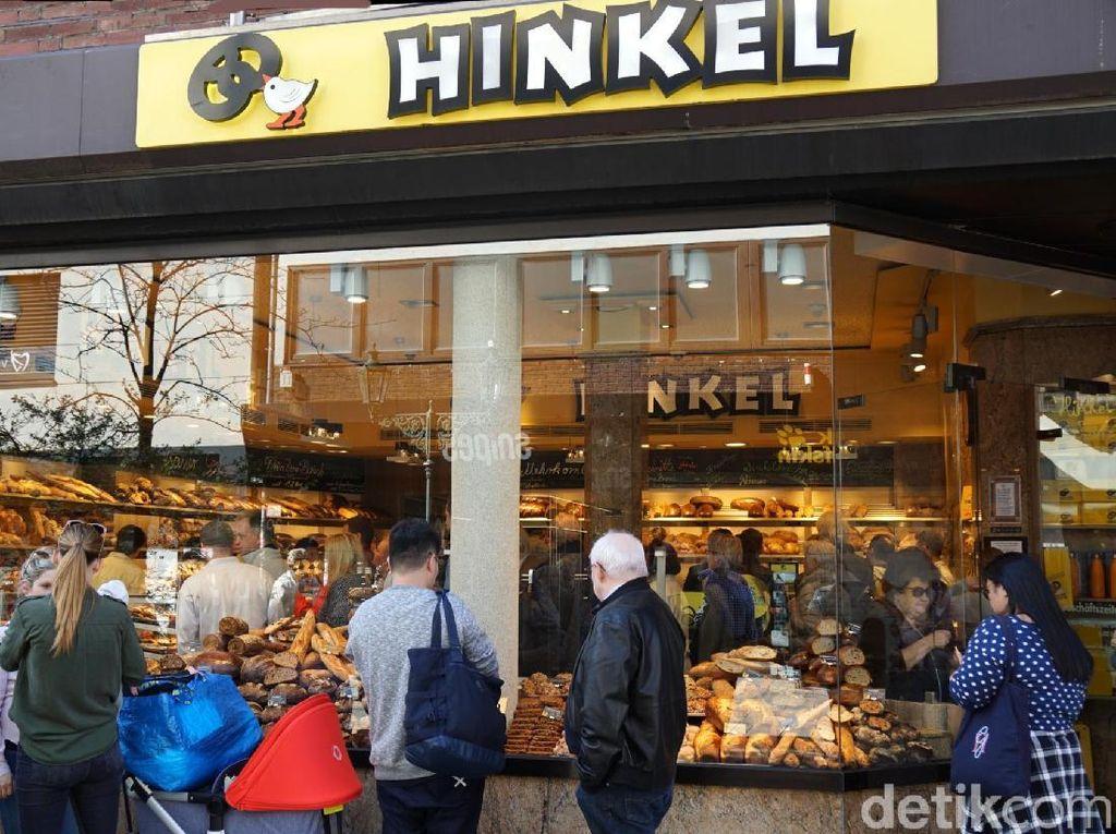 Foto: Toko Roti Paling Terkenal di Dusseldorf, Jerman