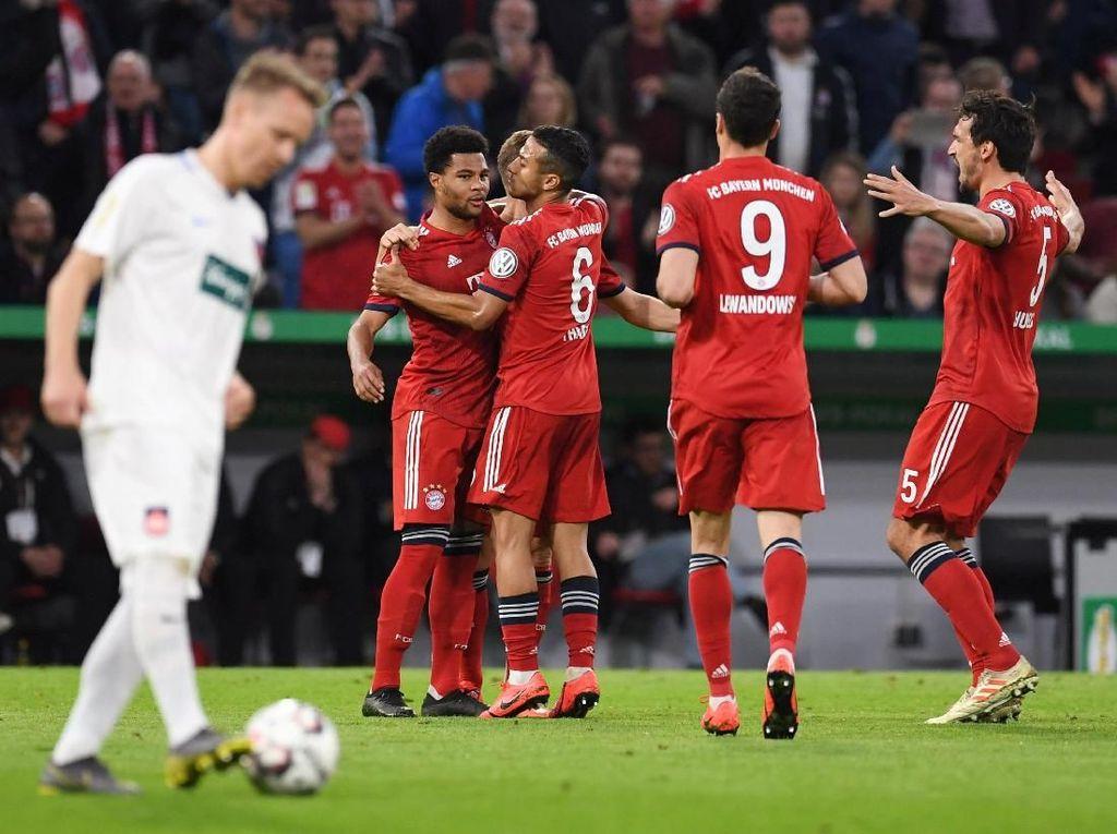 Drama 9 Gol di Allianz Arena, Bayern Munich Maju ke Semifinal DFB-Pokal