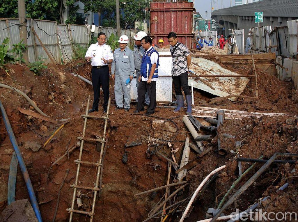 Kata Anies LRT Jabodebek Biang Banjir, Kontraktor Akui Ada Kontribusi