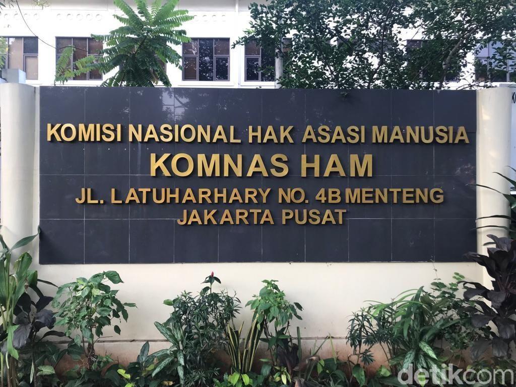 Komnas HAM Luruskan Hoax Foto Ahmad Taufan Damanik Bertemu Tommy Soeharto