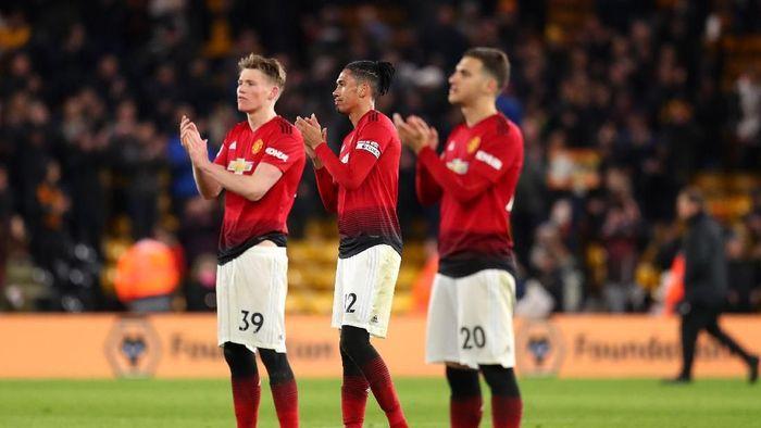 Manchester United kedatangan tamu besar saat menjamu Barcelona di Liga Champions. Pertandingan ini akan disiarkan langsung oleh RCTi (Catherine Ivill/Getty Images)
