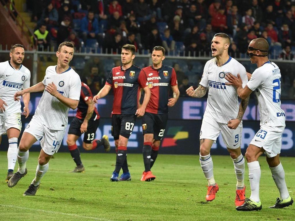 Inter Sudahi Rekor Tak Menyenangkan di Genoa