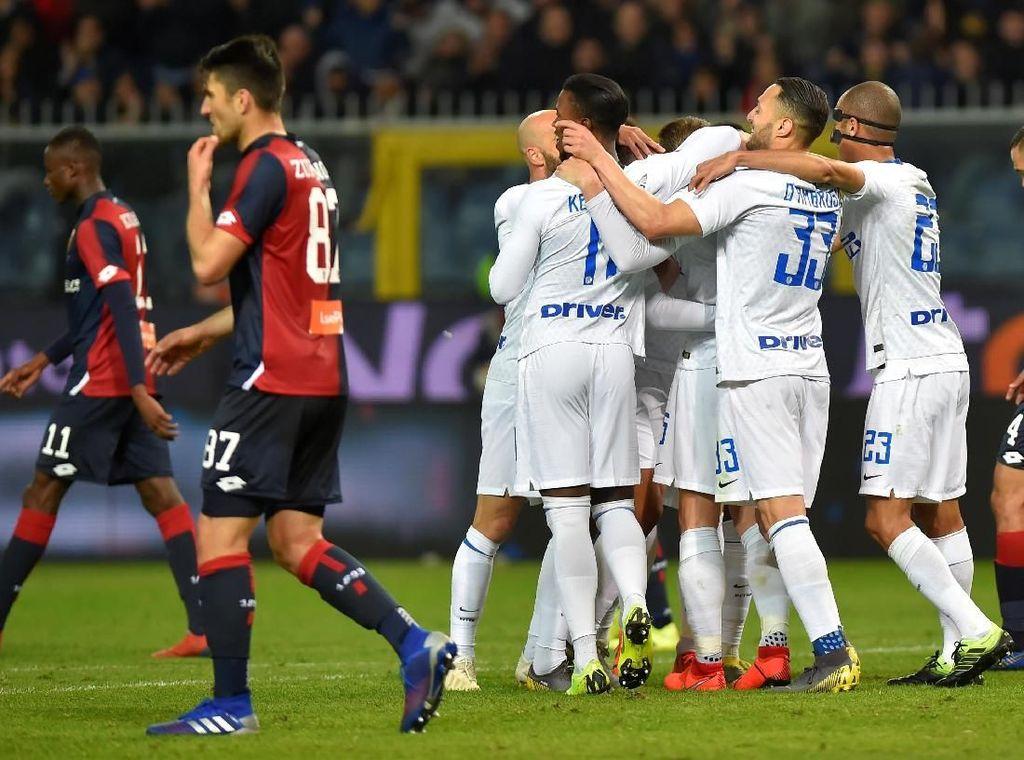 Hasil Liga Italia: Inter Hajar Genoa 4-0