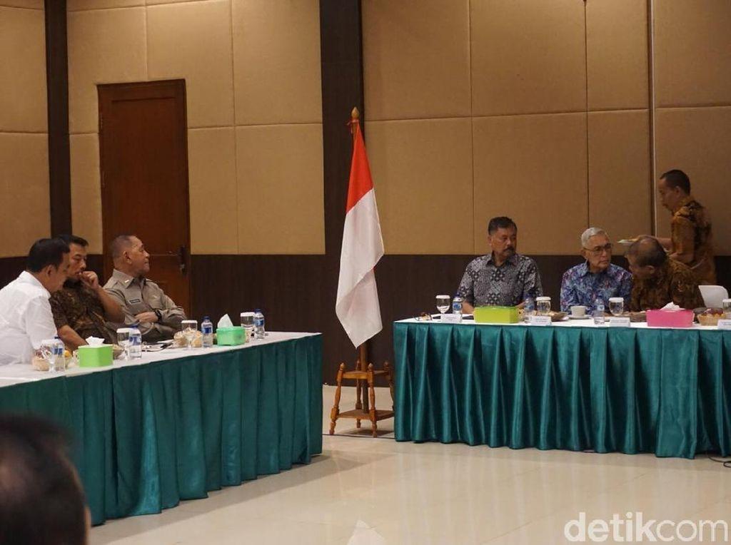 Moeldoko, Ryamizard dan Wiranto Temui Purnawirawan, Bahas Situasi Pemilu