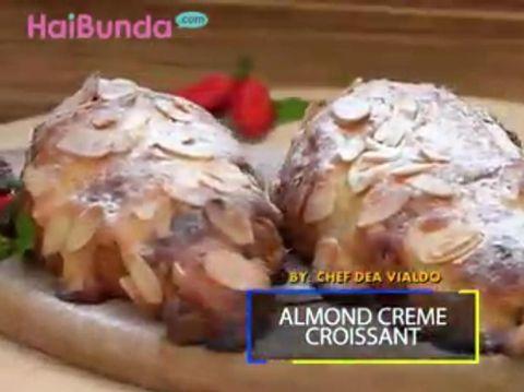 Resep Almond Creme Croissant/