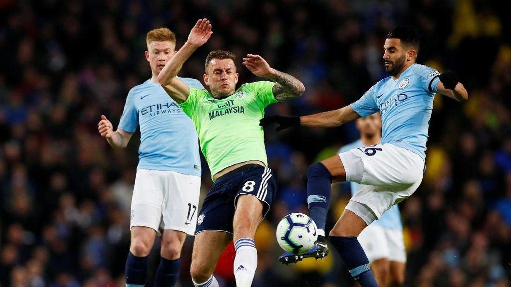 Tekuk Cardiff, City pun Puncaki Klasemen Liga Inggris