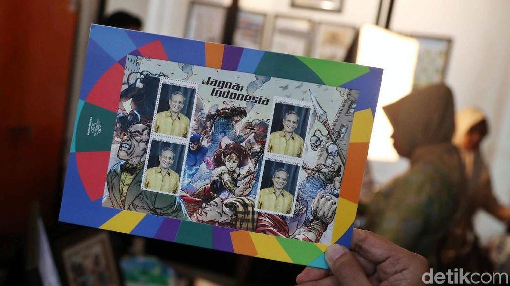 Keren! Kini Ada Perangko Edisi Super Hero Indonesia
