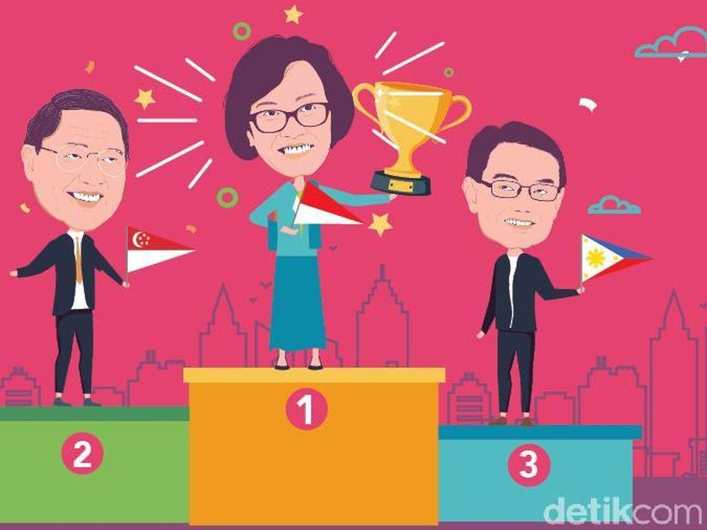 Sri Mulyani Jadi Menteri Keuangan Terbaik (Lagi) di Asia Pasifik