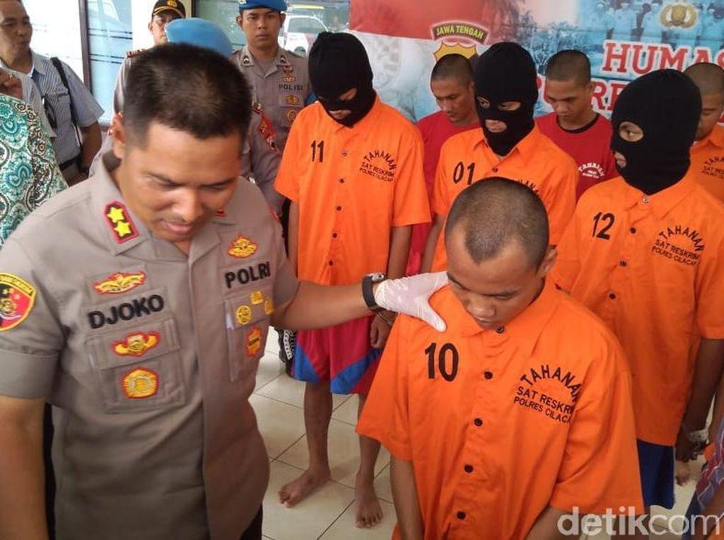 Beraksi di 30 TKP, 4 Pencuri Spesialis Sekolah di Cilacap Diciduk