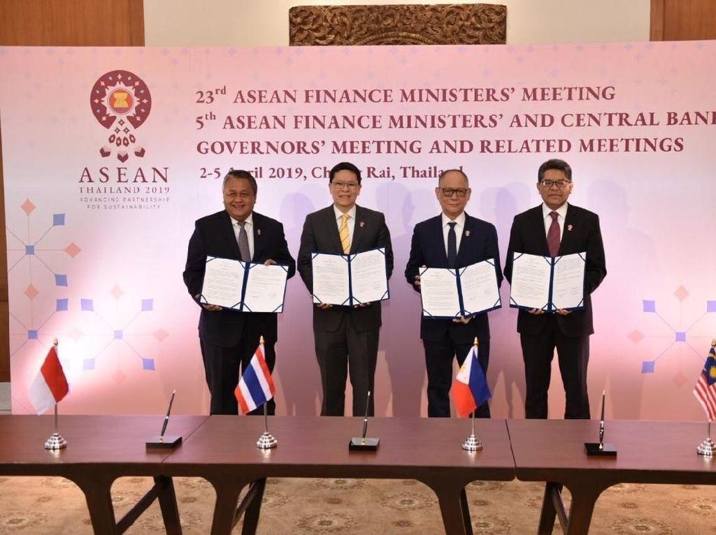 4 Negara ASEAN Sepakat Tak Gunakan Dolar AS untuk Dagang