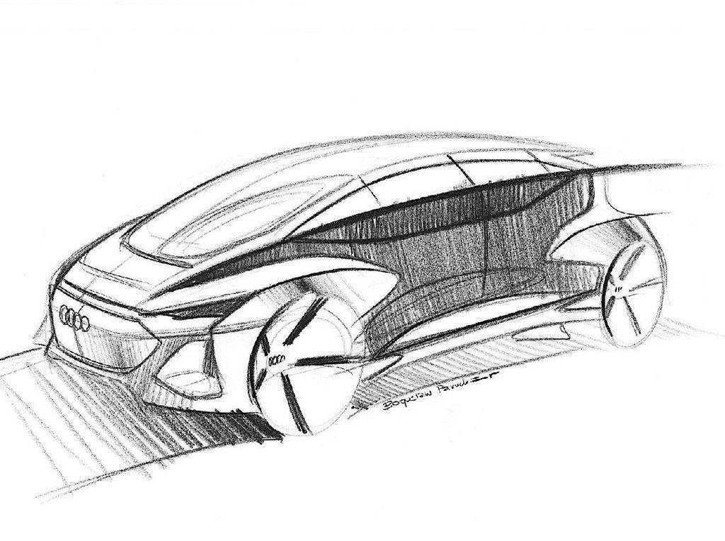 Audi Kenalkan Mobil Konsep Listrik Otonom Ini ke Asia