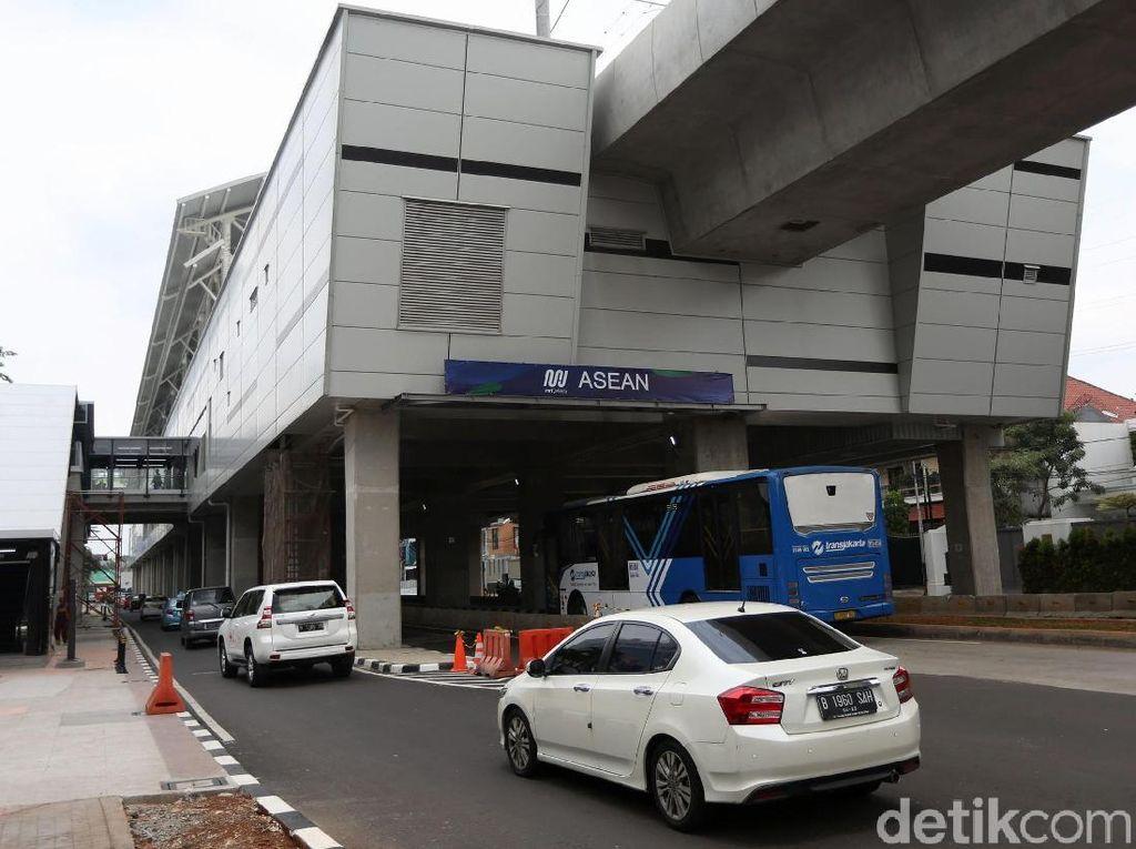 Pemprov DKI Rencanakan Bangun Skybridge di Stasiun MRT Asean