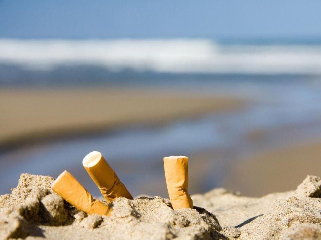 Puntung Rokok Ternyata Bisa Didaur Ulang Jadi Produk Rumahan Lho