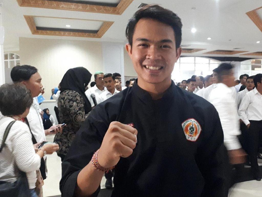 Pesilat Komang Adi Putra Antusias Ikuti Pemilu 2019, Imbau Jangan Golput