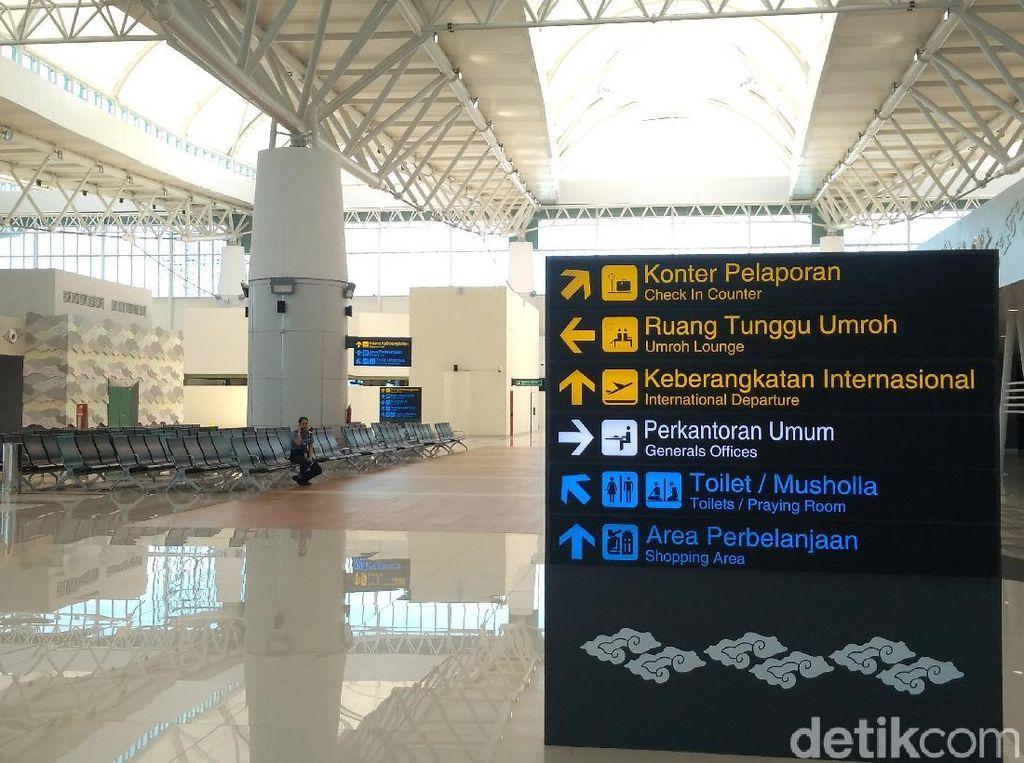 Bandara Kertajati Masih Sepi, Menhub: 5 Tahun Lagi Menguntungkan