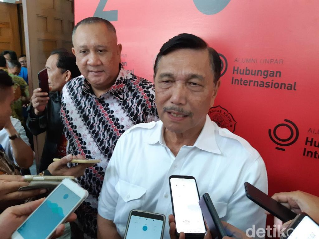 Luhut Yakin Tak Ada Masalah saat Putusan MK: Hubungan Jokowi-Prabowo Baik