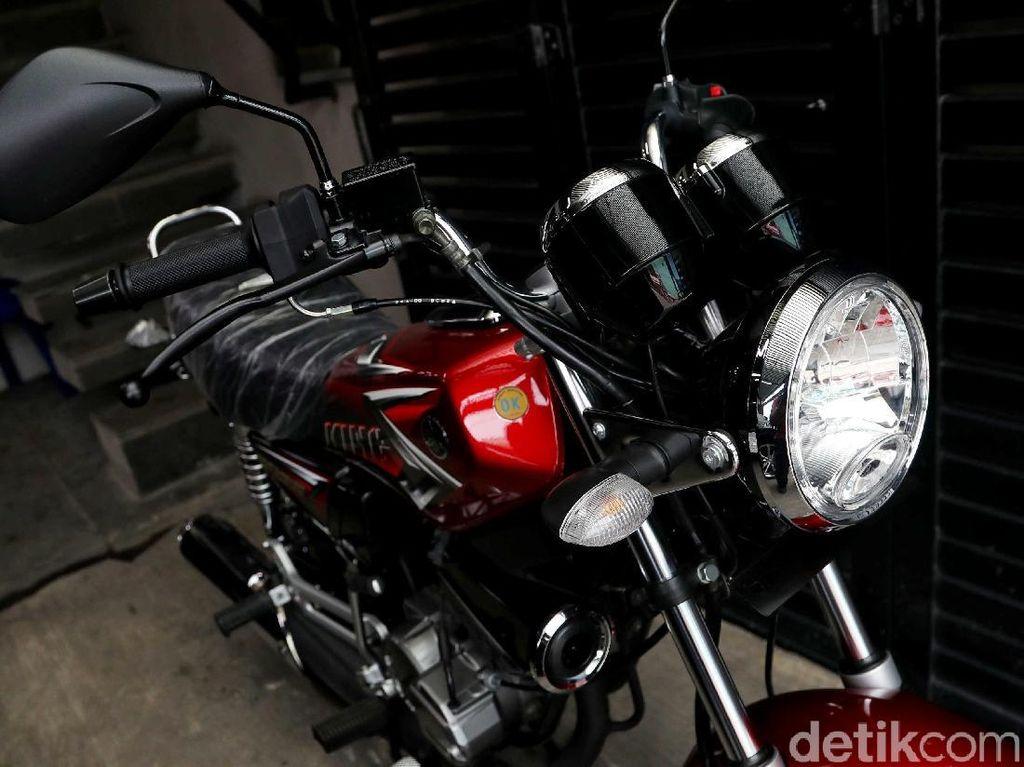 Ingat Zaman Susah, RX King Jadi Motor Kesayangan Ahmad Sahroni