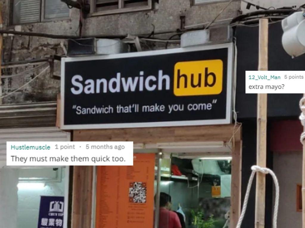 Punya Nama Mirip Seperti Situs Dewasa, Restoran India Ini Jadi Viral