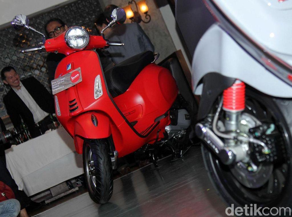 2 Motor Vespa Paling Banyak Dipakai Orang Indonesia