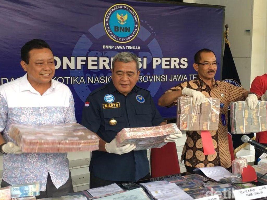 BNNP Jateng Ungkap Pencucian Uang Penjualan Narkoba Rp 3,2 M