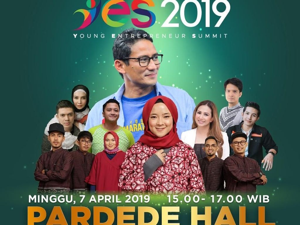 Saksikan Live Streaming Medan YES 2019 di detikcom!