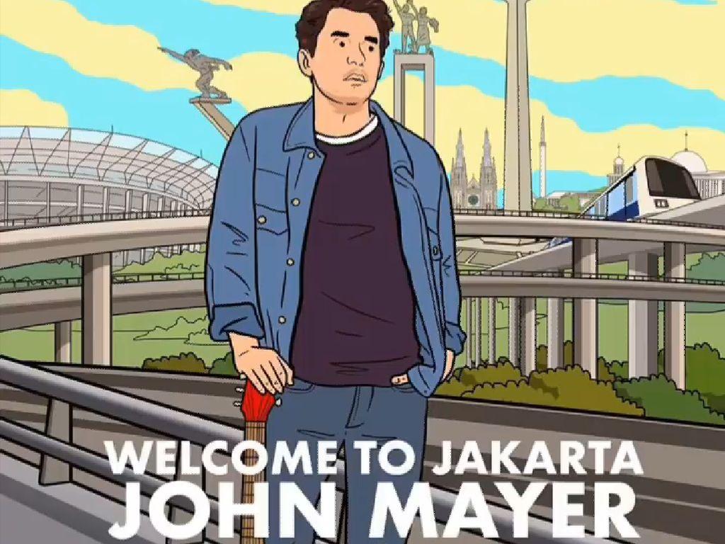 Ada MRT di Ilustrasi John Mayer, Hari Prast Ingin Ikon Jakarta Mendunia