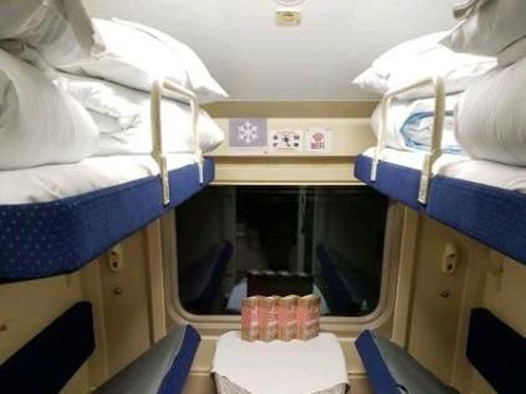 Begini Nyamannya Naik Sleeper Train di Rusia