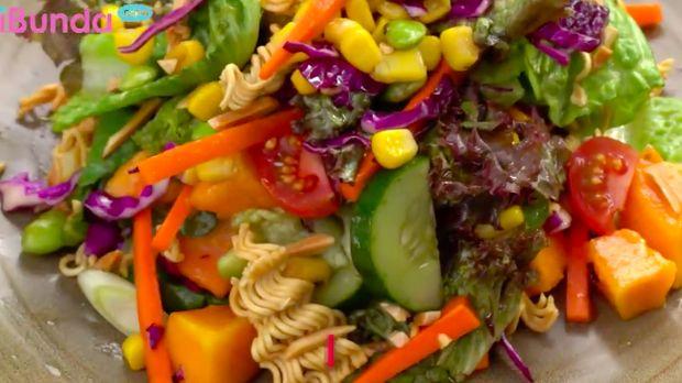 Resep salad mi
