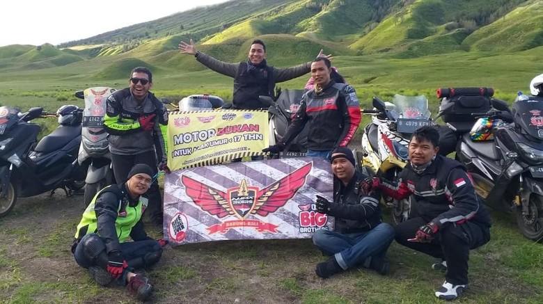 NMAX Riders Bekasi Terus Kampanyekan Road Safety Hingga Sumatera