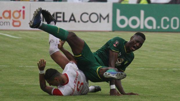 Persebaya gagal melaju ke semifinal Piala Indonesia.