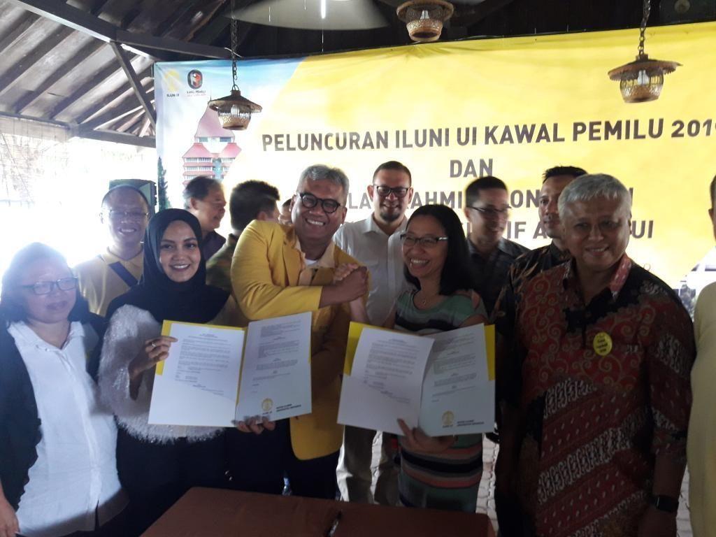 Jaga Suara Rakyat, ILUNI UI Kawal Pemilu Diluncurkan