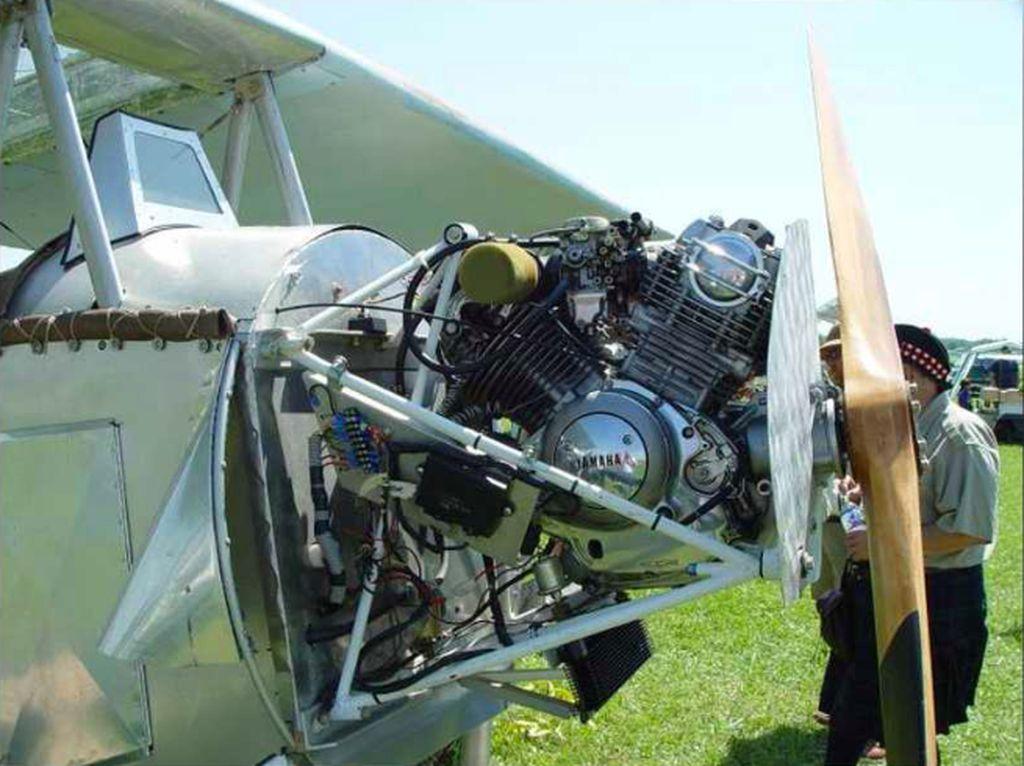 4 Pesawat Ini Pakai Mesin Motor!