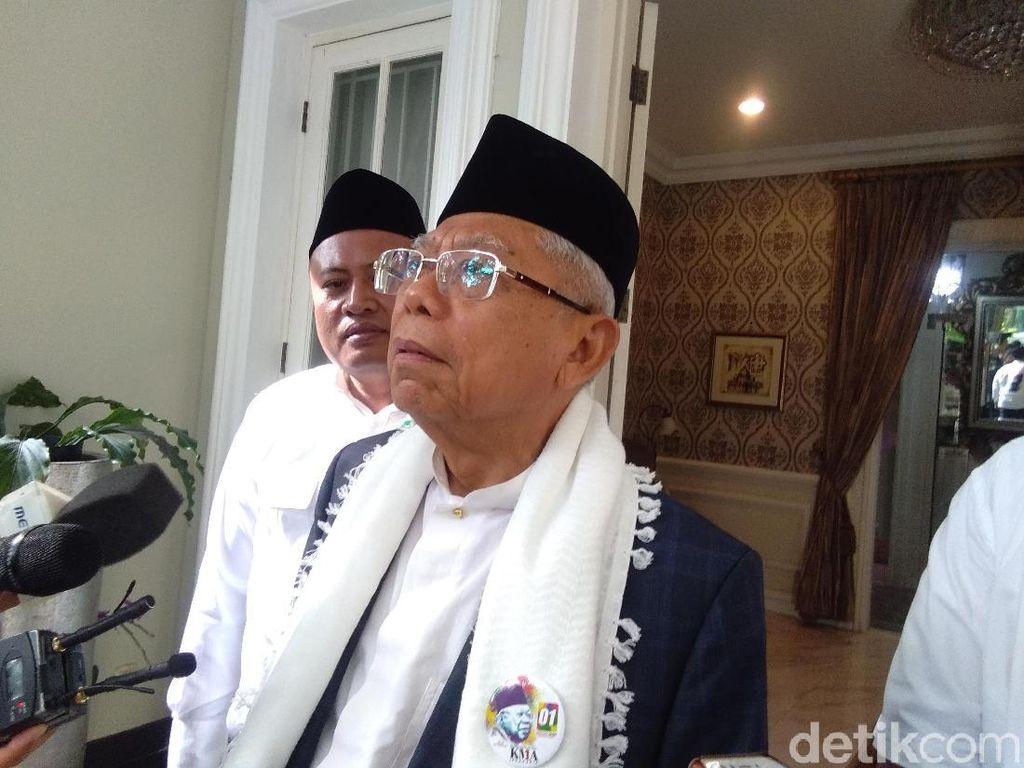Prabowo Sebut Belasan Persen Suara akan Dicuri, Maruf Sindir Hasil Survei
