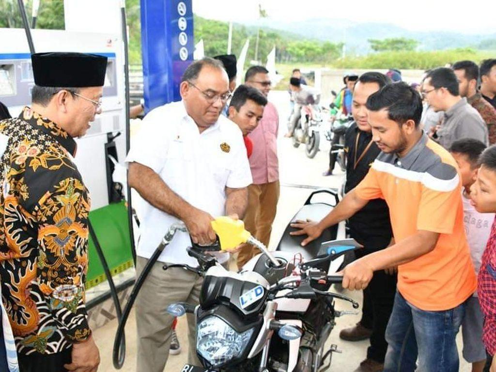 BBM Satu Harga Layani Masyarakat di Pedalaman Aceh
