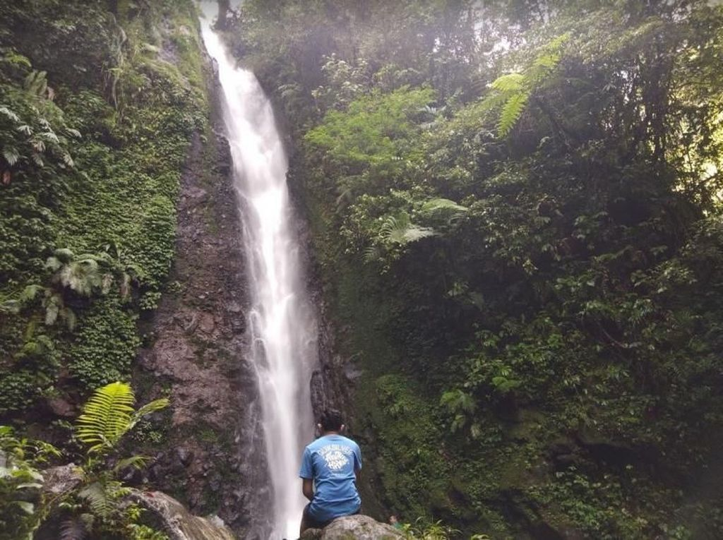 Curug Ciparay, Pesona Air Terjun di Bawah Kaki Gunung Salak Bogor